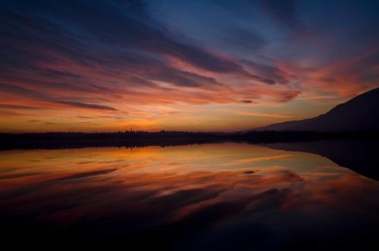 2_76_paesaggio_Riflessioni_Lago di Oggiono_Sala al Barro