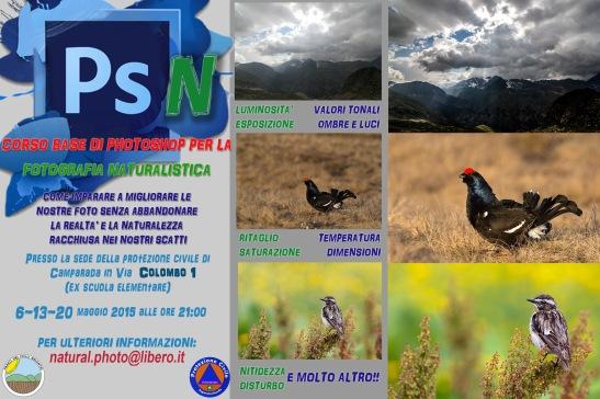 CORSO PHOTOSHOP maggio 2015